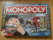 New Monopoly For Sore Losers - Lose To Win