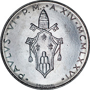 Vatican City L.100 Lire Coins Mixed Dates And Grades Pick The Coins You Want