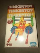 Vintage Tinkertoy Set 440 Child Guidance Used In Very Good Condition