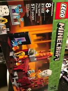 Lego Minecraft 21122 The Nether Fortress New Factory Sealed Wear On Box