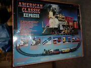 American Classic Express Train Set By Toy State G Scale