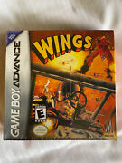 Wings Nintendo Game Boy Advance, 2003 100 Authentic Brand New Sealed Grail