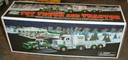 Hess Gasoline 2013 Toy Truck And Tractor