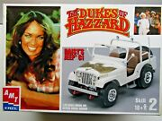 Amt 125 Scale Dukes Of Hazzard Daisyand039s Jeep C1 Model Kit New - Kit 31535-1hd