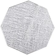 20x10 Pack Pressed Pvc Metallic Hollow Placemats/charger/wedding Accent