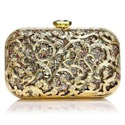 5xcrystal Bird Purse Bling Out Clutch Evening Bags And Clutches For Women L4d9