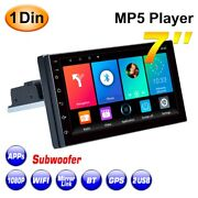 20x7 Inch 1din Android 9.1 Car Stereo Radio Quad Core