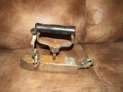 Antique New York Gas Steam Iron Large Commercial N.y. Pressing Iron Co