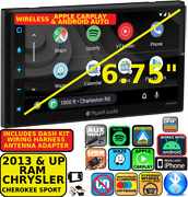 2013 And Up Ram Wireless Apple Carplay Android Auto Navigation Bluetooth Stereo