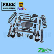 Suspension Lift Kit Zone 6.5 Front And Rear For Chevy Tahoe 4wd Gas 2007-2014