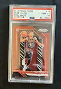 2018 Panini Prizm Ruby Wave Trae Young Rc 78 Psa 10 Gem Mint Hot Superstar
