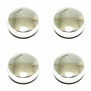 4x Us Mags Polished Silver Wheel Center Hub Caps 3-3/8od Snap-in