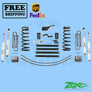 Suspension Lift Kit Zone 5 F And R For Dodge Ram 2500 4wd Gas/diesel 2000-02