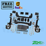 Suspension Lift Kit Zone 4 Front And Rear For Dodge Ram 1500 4wd 2006-2008