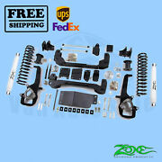 Suspension Lift Kit Zone 4 Front And Rear Fits Dodge Ram 1500 4wd 2009-2012