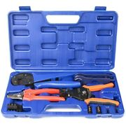 10xiwiss Solar Crimping Tool Kit With Cable Cutter Wire Stripper