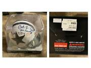 Collectible Small Football Helmet Signed And Autographed By Dallas Cowboy Bob Li