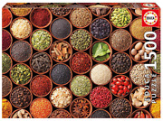 Puzzle 1500 Pieces Herbs And Spices New Cardboard Diy Educa
