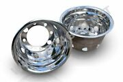 22.5 Trailer Wheel Trims Covers Sleeves X4 For Volvo Daf Scania Man Iveco