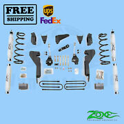 Suspension Lift Kit Zone 6 Front And Rear Fits Dodge Ram 3500 4wd 2008