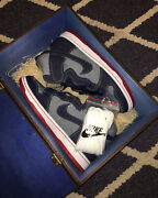 Nike Dunk High Pro Sb Qs Reese Forbes Denim Special Box 15th Anni Us 9 Brand New
