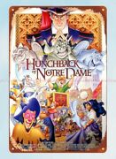 Hunchback Of Notre Dame Movie Poster Metal Tin Sign Metal Art Signs