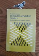 Design And Use Of Computer Simulation Models By Emshoff/sisson 1st/ 1st 1970 Hc
