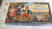 Uncle Wiggly 1988 Vintage Milton Bradley Board Game Complete W/ Instructions