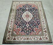 Antique Hand Knotted Rug 3and0393 X 5 100 Silk