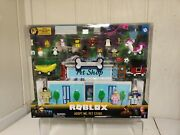 Roblox Adopt Me Pet Store 40 Pieces Play Set Brand New With Virtual Item Code
