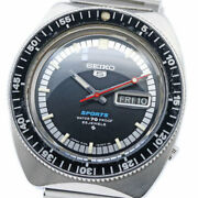 Seiko 5 Sports Diver 6106-8120 Automatic Vintage Watch 1968 Andrsquos Overhauled