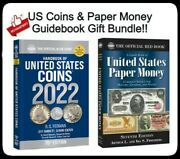 2022 Official Blue Book Guide Us Coins And Us Paper Money 7th Ed Catalog Lot New