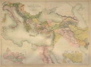 Ancient World. Eastern Mediterranean And Middle East. Bartholomew 1870 Old Map