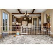 Kids Safety Pen Extra Long Indoor Baby Gate Playpen Fence Play Yard 8 Panel New