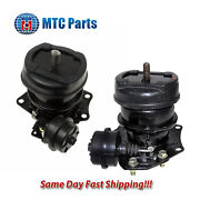 Mtc Front L And R Engine Mount - Hydraulic W/ Vacuum 1995-1998 For Acura Tl 2.5l