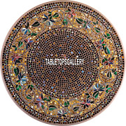 55and039and039 Marble Table Top Dinette Inlay Modern Design Beautiful Arts Decorate H3964c