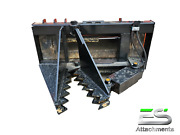 Es Tree / Post Puller Skid Steer Quick Attach Tractor Loader - Local Pickup
