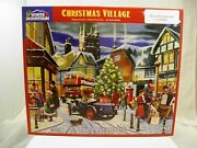 White Mountain Christmas Village 1000 Pc Jigsaw Puzzle By Kevin Walsh