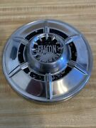 1964-1965 Ford Falcon Dog Dish Hubcap Stainless Steel 9 1/2 Inches Nice