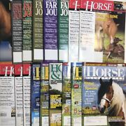 The Horse Magazine Horse Illustrated Lot Of 17 Issues 1990's-2000's