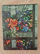 Sotheby's 1988 Auction Catalog Galle Cameo Glass Lamps Lalique Serpent Vase 5732