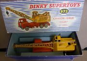 91 - French Vintage Dinky Toy - 972 Lorry Mounted Crane 20 Ton Coles