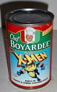 X-men- Chef Boyardee Limited Edition Pasta In Tomato And Cheese Flav Sauce Can