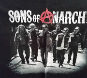 Licensed Sons Of Anarchy Crew T-shirt Size 4xl New, Never Worn