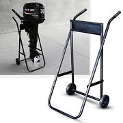 Outboard Boat Engine Trolley Stand Boat Motor Carrier Trailer Max.load 70kg