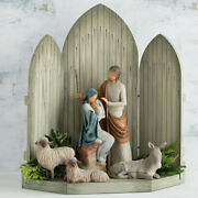 Willow Tree The Christmas Story Nativity Set Large Scale Size F/ Shipping