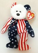 Ty Beanie Baby Rare Retired Original Mint Condition 1999 Spangle Bear H459