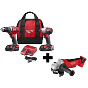 18v Lithiumion Cordless Drilldriver Hex Impact Driver Combo Fastening Torque Kit