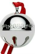New 2016 Wallace Silver Plate Sleigh Bell