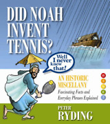 Ryding Peter-did Noah Invent Tennis Well I Never Knew T Uk Import Bookh New